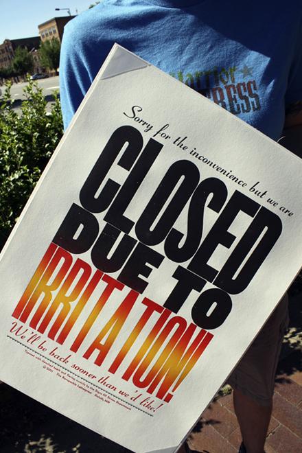 closedirritation